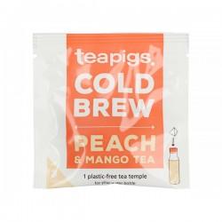 teapigs Peach & Mango Cold Brew tea pyramid 10 pcs