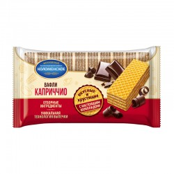 Wafers Kolomenskoe with nuts 200 g