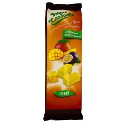 Gudrie saldumi KONFEKTES ar stēviju, želejas, ar mango-marakujas garšu 90g