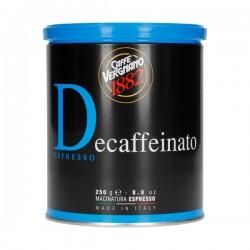 Ground coffee Caffe Vergnano Decaffeinato Espresso 250g