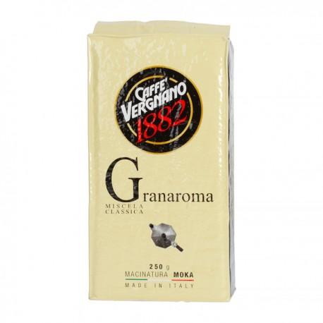 Ground coffee Caffe Vergnano Gran Aroma 250g