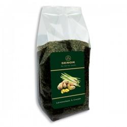 Senok Green Tea Ginger 100g cellophane bag