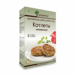 "Zdoroveda vegan cutlets ""Lentils"", 280 g"