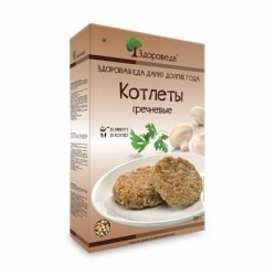 "Zdoroveda vegan cutlets ""Buckwheat"", 280 g"