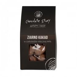 Manufaktura Czekolady - Truffles - Cocoa Bean in Milk Chocolate 40g