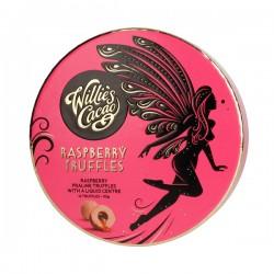 Willie's Cacao - Praline Truffles White Chocolate with Raspberries 110g