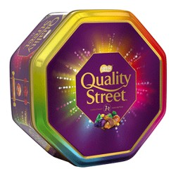 Quality Street konfektes Christmas Edition 966g (1000g ar konfekšu ietīnamo)
