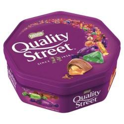 Quality Street Tub konfektes 629g (650g ar konfekšu iesaiņojumu)
