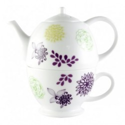 Vintage Teas 2 in 1 tea set - Flower set