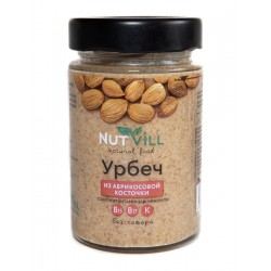 Urbech from apricot seeds 180g NUTVILL