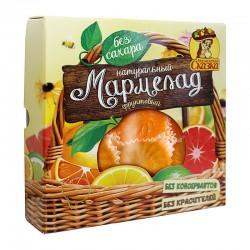 """Fruit jelly without sugar """"With orange, grapefruit, lemon"""" 300g"""