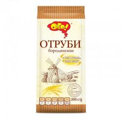 """Ekstrudētas rudzu klijas """"ОГО! Бородинские """" 200 g"""