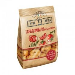 "Miniature Italian dry bagels Tarallini ""with tomato and aromatic herbs""  180g"