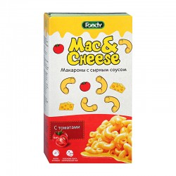 Mac&Cheese Macaroni with cheese sauce with tomatoes 143g