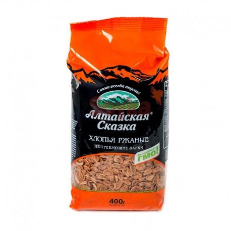 Buckwheat rye flakes ТМ «Алтайская Сказка» 400g