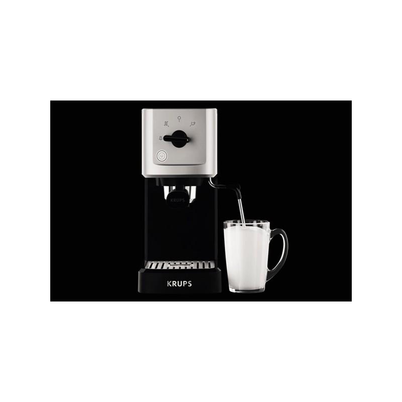 how to use krups espresso maker