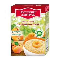 4 grain flakes with apricot ТМ «Русский завтрак» 240g