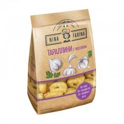 "Miniature Italian dry bagels Tarallini ""with garlic""  180g"