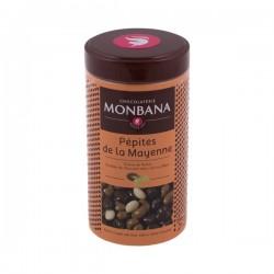 Monbana Raisins Coated With Chocolate - Pepites De La Mayenne 200g