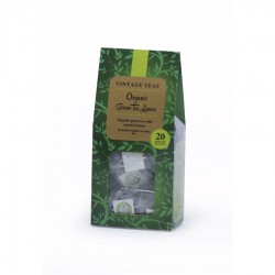 Vintage Teas Pyramid Organic Green Tea Lemon 20pcs 40g
