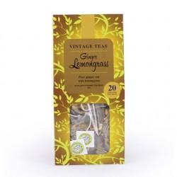 Vintage Teas Ginger Lemongrass 20 pyramids 40g