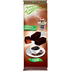 Smart sweets CANDIES with stevia, coffee-plombir taste 105g