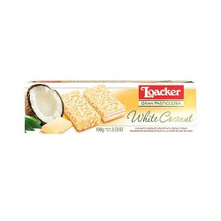 Wafers Loacker Gran Pasticceria Patisserie White Coconut 100g