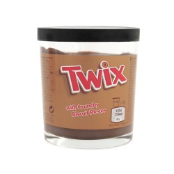 Twix chocolate spread with crunchy biscuit pices 200g
