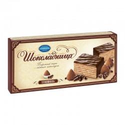 "Glazed wafer cake ""Шоколадница"" truffle 250g"