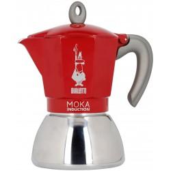 Bialetti Moka Induction 4 cup Red 160ml kafijas aparats
