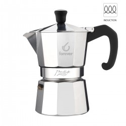 Forever Miss Prestige Induction 6 cup coffee pot (Italy)