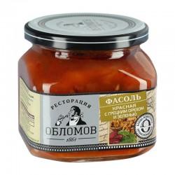 Red beans with walnuts and herbs ТМ «Ресторация Обломов» 450g