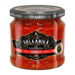 "Caviar TM ""BALKANIKA"" from baked peppers and eggplants ""АЙВАР"" 360g"