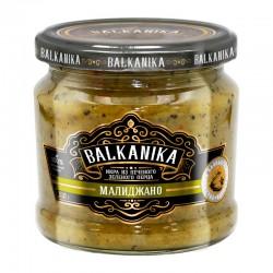 "Caviar ТМ ""BALKANIKA"" from grilled green pepper and eggplant ""Малиджано"" 360g"