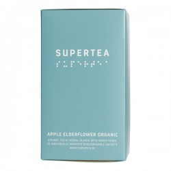 Teministeriet Supertea Apple Elderflower Organic 20 Tea Bags