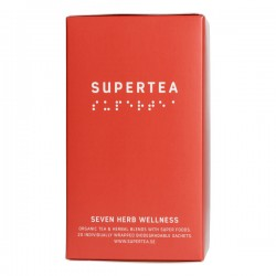 Teministeriet Supertea Seven Herb Wellness Organic 20 Tea Bags