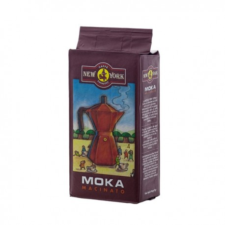 Ground coffee NEW YORK MACINATO MOKA, 250g
