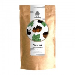 Chaga tea drink with currant leaves 70g