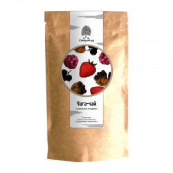 Chaga tea drink with wild berries 70g