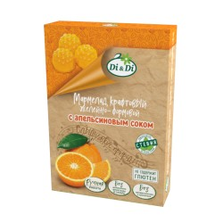 Smart sweets MARMELAD with orange juice with stevia 200 g No sugar added