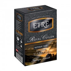 """Etre Royal Ceylon"" black whole leaf tea 100g"