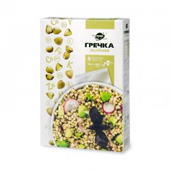"""Green buckwheat in boiling bags (5 x 70 g) TM """"Lifestyle Altai"""""""
