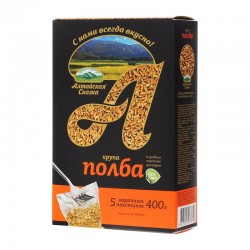 Spelled wheat polished ТМ «Алтайская Сказка»® in boiling bags (5 x 80 g)