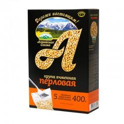 Pearl barley in boiling bags (5 x 80 g) ТМ «Алтайская Сказка»