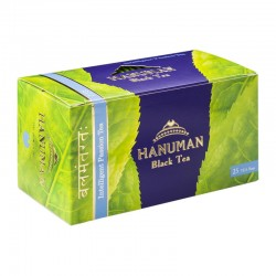 "Black Ceylon tea with strawberries HANUMAN ""Intelligent Passion Tea"" (25 pcs)"