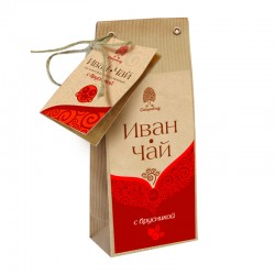 Siberian Ivan tea with lingonberries 50g