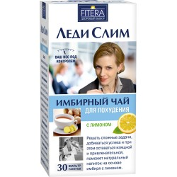 Ginger Slimming Tea Lady Slim with lemon 30 sachets