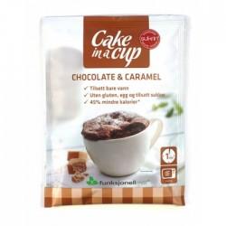 Chocolate & Caramel Cake in...
