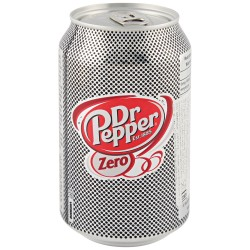Dr Pepper Zero Sugar drink...