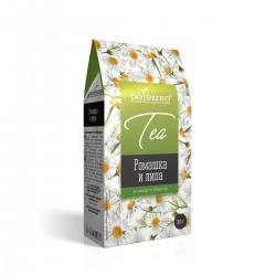 Kumelīšu tēja ar liepu...